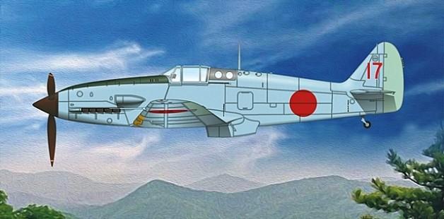 Ki 61 II Kai prototype