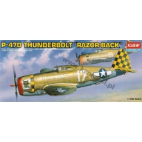 "P-47D Thunderbolt ""Razorback"" (1:72)"