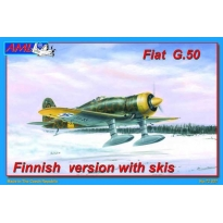 Fiat G.50 Finnish version with skis (1:72)