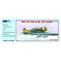 Skis for Fiat G.50,2nd series + Decal sheet (1:48)