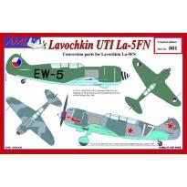 Lavochkin UTI La - 5FN: Konwersja (1:48)
