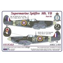 S.Spitfire MK VB, 313Sq - Part III (1:32)
