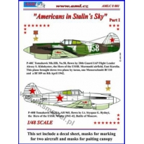 P-40C - Americans in Stalin's Sky, Part I (1:48)