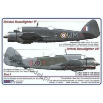 Bristol Beaufighter IF / VIF Part I (1:72)