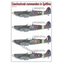 Czechoslovak commanders in the Spitfire (1:32)