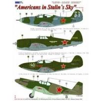 P-47D-10, P-51A,P-400, P-39N in  Stalin´s Sky (1:48)