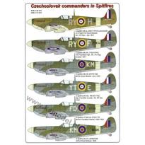 Czechoslovak commanders in Spitfires (1:48)