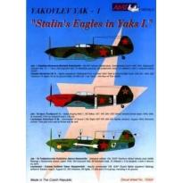 Yakovlev Yak-1 Stalinští orlové I. (1:72)