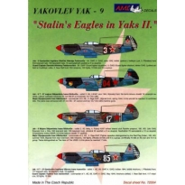 Yakovlev Yak-9 Stalinští orlové II. (1:72)
