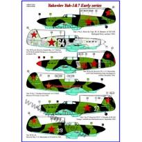 Yakovlev Yak-1 & Yak-7,Early series (1:72)