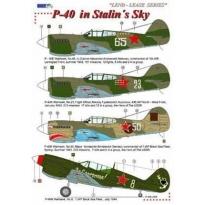 P-40 in Stalin´s Sky / Lend - Lease (1:72)