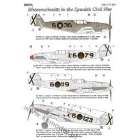 Messerschmitts in the Spanish Civil War (1:72)