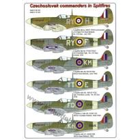 Czechoslovak commanders in Spitfires (1:72)