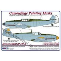 """Messerschmitt Bf 109E """"Late"""" Cam. Painting Masks (1:72)"""