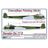 Dornier Do 17 Z - Camouflage Painting Masks (1:72)
