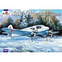Yak-6M with ski gear (1:72)