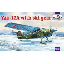 Yak-12 A with ski gear (1:72)