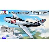 """Soviet trainer aircraft Yak-30 """"Magnum"""" (1:72)"""
