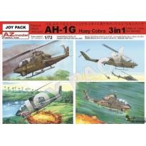 """AH-1G """"Huey Cobra """"JOY PACK"""" 3 in 1 (1:72)"""