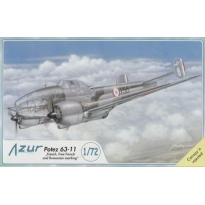 "Potez 63-11 ""French, Free French and Rumanian marking"" (1:72)"