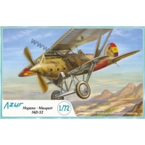 Hispano Nieuport NiD- 52 (1:72)