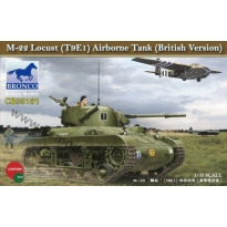 M22 Locust (T9E1) Airborne Tank (British version) (1:35)