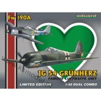 Fw 190A JG-54 Grünherz - Dual Combo - Limited Edition (1:48)