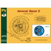 Avrocar Racer X  Zodiaco Jet (1:72)