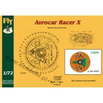 Avrocar Racer X  Boa Agency (1:72)