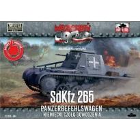 First to Fight Sd.Kfz.265 Panzerbefehl. Niem.czołg dow.(1:72)