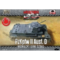 First To Fight PzKpfw.II Ausf.D Miem.lekki czołg (1:72)