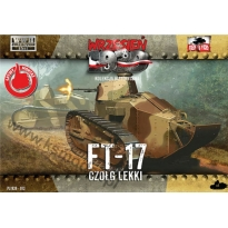 First to Fight FT-17 Czołg lekki (1:72)