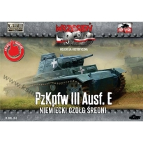 First to Fight Pz. Kpfw. III Ausf.E - Niem.czołg średni (1:72)