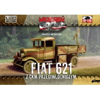 First to Fight Polski Fiat 621 z ckm przeciwlotniczym (1:72)