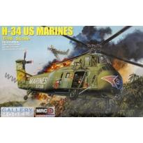 H-34 US Marines (1:48)
