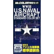 MR Color US Naval Aircraft - Zestaw 3 farb o poj.10 ml
