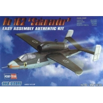 """He 162 """"Salamander""""Easy Assembly (1:72)"""