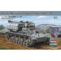 German Munitionsschlepper Pz.Kpfw.IV Ausf.D/E (1:72)