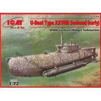 U-Boat Type XXVIIB Seehund (early) (1:72)