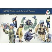 NATO Pilots and Ground Crews (1:72)