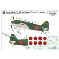 Kawanishi N1K1-Ja Shiden Type 11 (George) (1:72)
