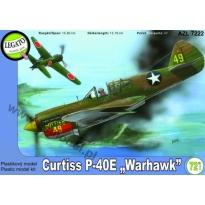 Curtiss P-40E Warhawk (1:72)