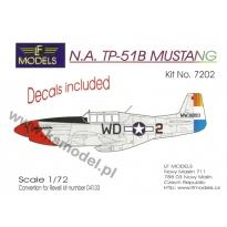 N.A.TP-51B Mustang: Konwersja (1:72)