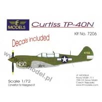 Curtiss TP-40N: Konwersja (1:72)