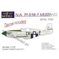 N.A. TP-51B-1 Mustang: Konwersja (1:72)