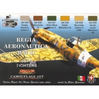 Regia Aeronautica WWII set 1: Fighters