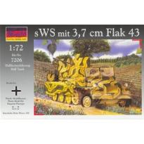 sWS schwerer Wehrmachtschleppermit 3,7 cm Flak 43 (1:72)