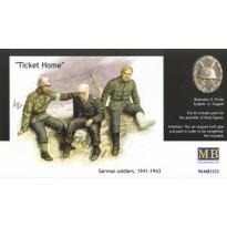 """""""Ticket Home"""" German Soldiers,1941-43 (1:35)"""