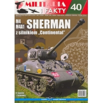 M4 M4A1 Sherman z silnikiem Continental