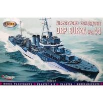 """Niszczyciel eskortowy ORP """"Burza"""" wz.44 (1:400)"""
